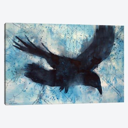 Flight Canvas Print #SYE11} by Sarah Yeoman Canvas Artwork