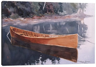 Guide Boat Canvas Art Print