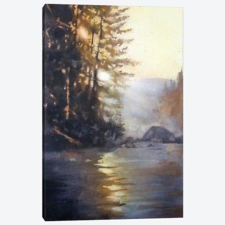 Holding The Light Canvas Print #SYE16} by Sarah Yeoman Art Print