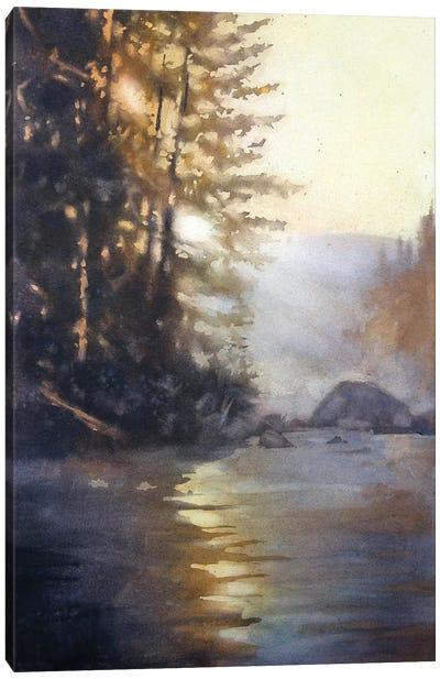 Holding The Light Canvas Art Print