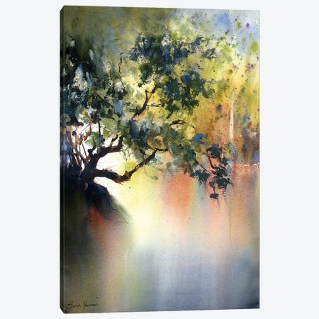 Into The Light Canvas Print #SYE18} by Sarah Yeoman Canvas Wall Art
