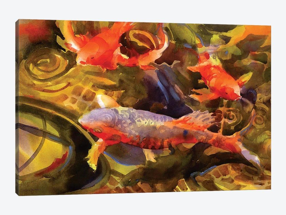 Koi by Sarah Yeoman 1-piece Art Print