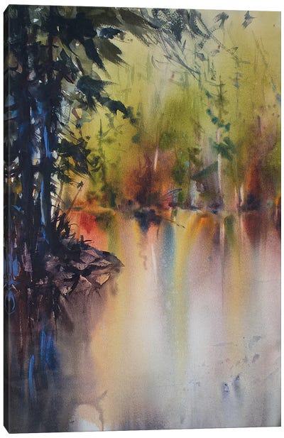 Around The Bend Canvas Art Print