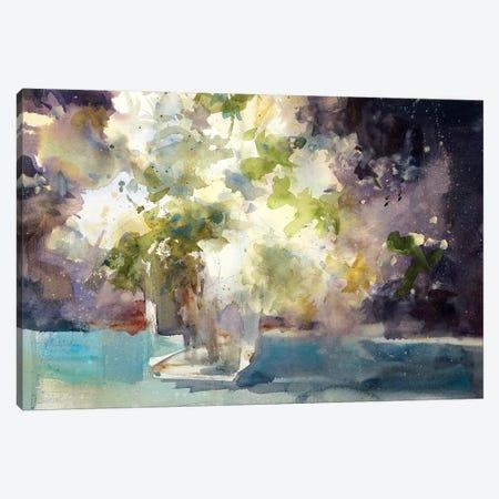 Lilacs Canvas Print #SYE22} by Sarah Yeoman Canvas Art Print
