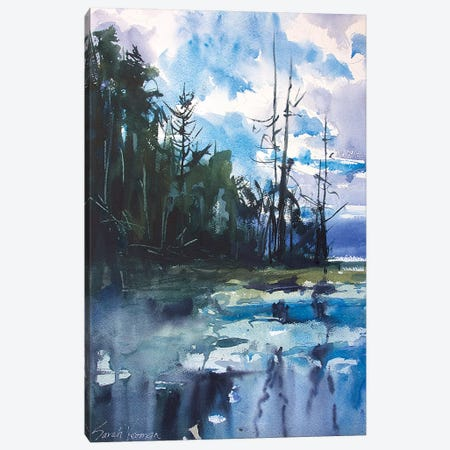 Ode To Winslow Canvas Print #SYE26} by Sarah Yeoman Canvas Wall Art