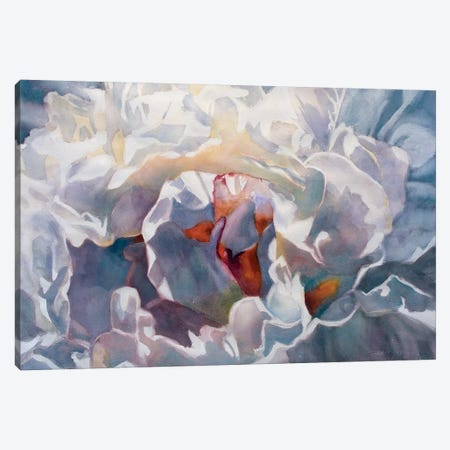 Poem Peony Canvas Print #SYE29} by Sarah Yeoman Canvas Print