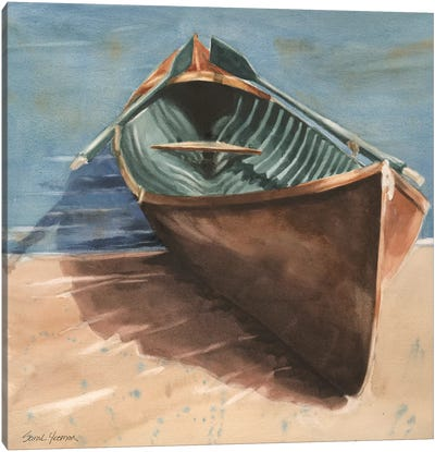 Rowing Home Canvas Art Print