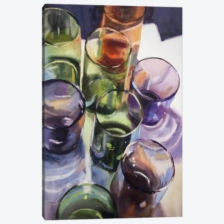 Shadows And Light Canvas Print #SYE32} by Sarah Yeoman Canvas Wall Art