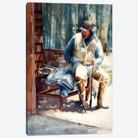 The Guide Adirondacks Canvas Print #SYE36} by Sarah Yeoman Canvas Print