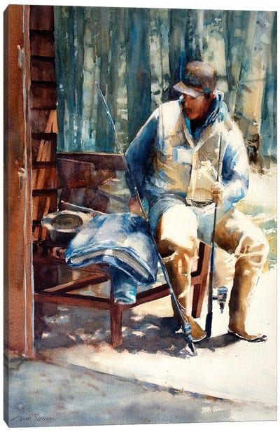 The Guide Adirondacks Canvas Art Print