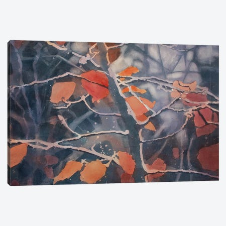 Autumn Canvas Print #SYE3} by Sarah Yeoman Canvas Artwork