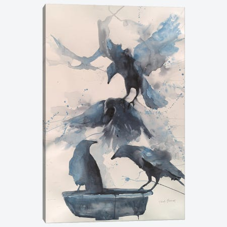 Totem III Canvas Print #SYE44} by Sarah Yeoman Canvas Artwork