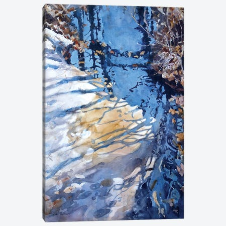 Tributary Canvas Print #SYE45} by Sarah Yeoman Canvas Artwork