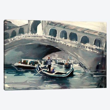 Venice Canvas Print #SYE47} by Sarah Yeoman Canvas Artwork