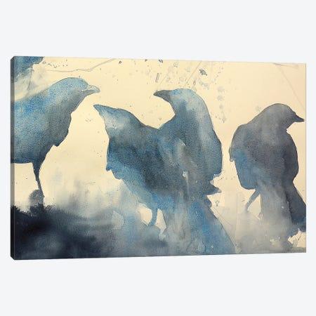 Storytelling Canvas Print #SYE60} by Sarah Yeoman Art Print