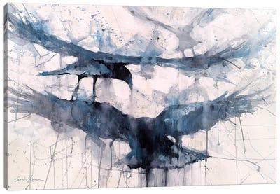 3 Crows Canvas Art Print