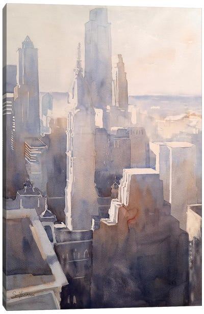 Philadelphia Story Canvas Art Print
