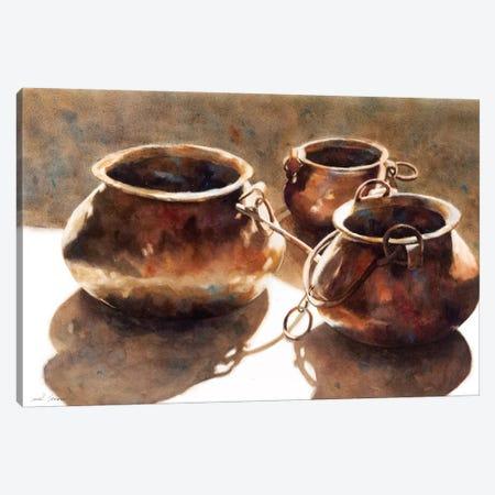 Winter Sunshine Canvas Print #SYE71} by Sarah Yeoman Canvas Artwork