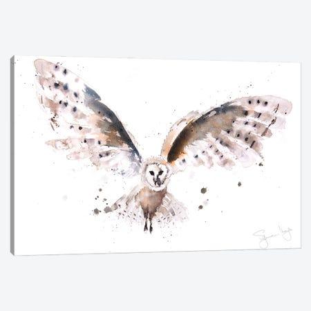 Owl I Canvas Print #SYK100} by Syman Kaye Canvas Print