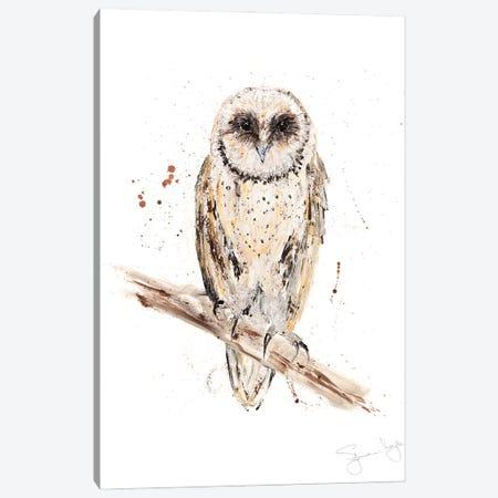 Owl II Canvas Print #SYK101} by Syman Kaye Canvas Print
