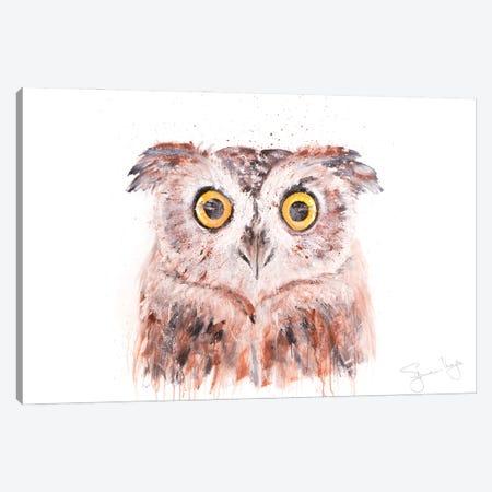 Owl III Canvas Print #SYK102} by Syman Kaye Canvas Print