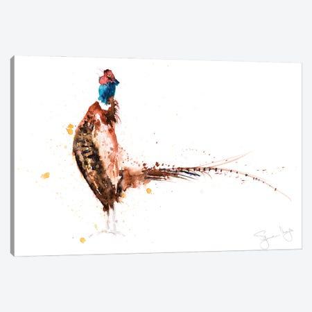 Pheasant No8 Pheasant Canvas Print #SYK114} by Syman Kaye Art Print