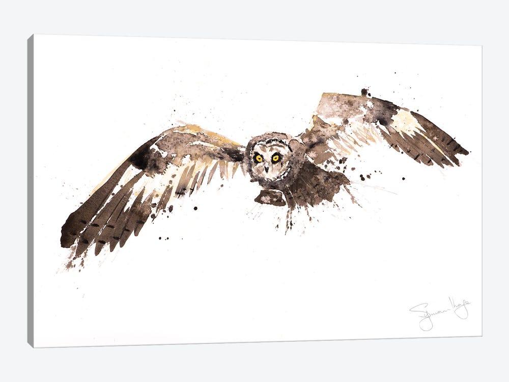 Barn Owl by Syman Kaye 1-piece Canvas Art