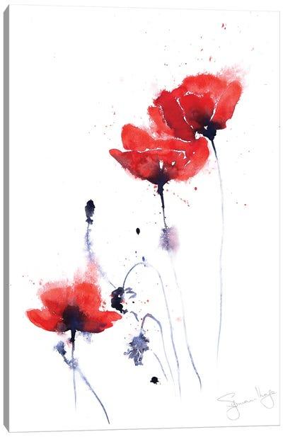 Poppy Group II Canvas Art Print