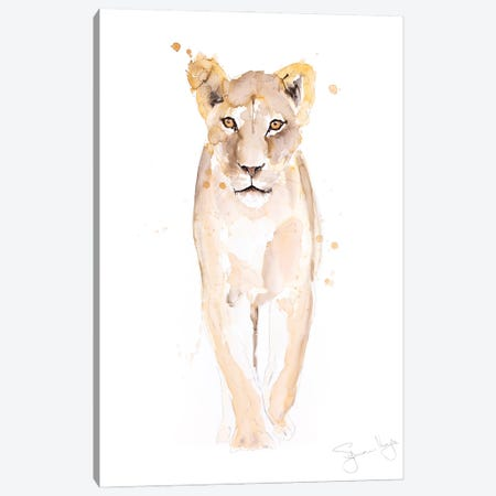Pride Lion Canvas Print #SYK122} by Syman Kaye Canvas Art Print