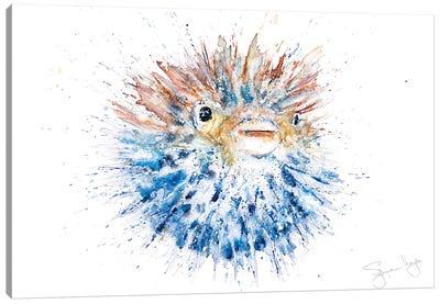 Puffa Fish Canvas Art Print