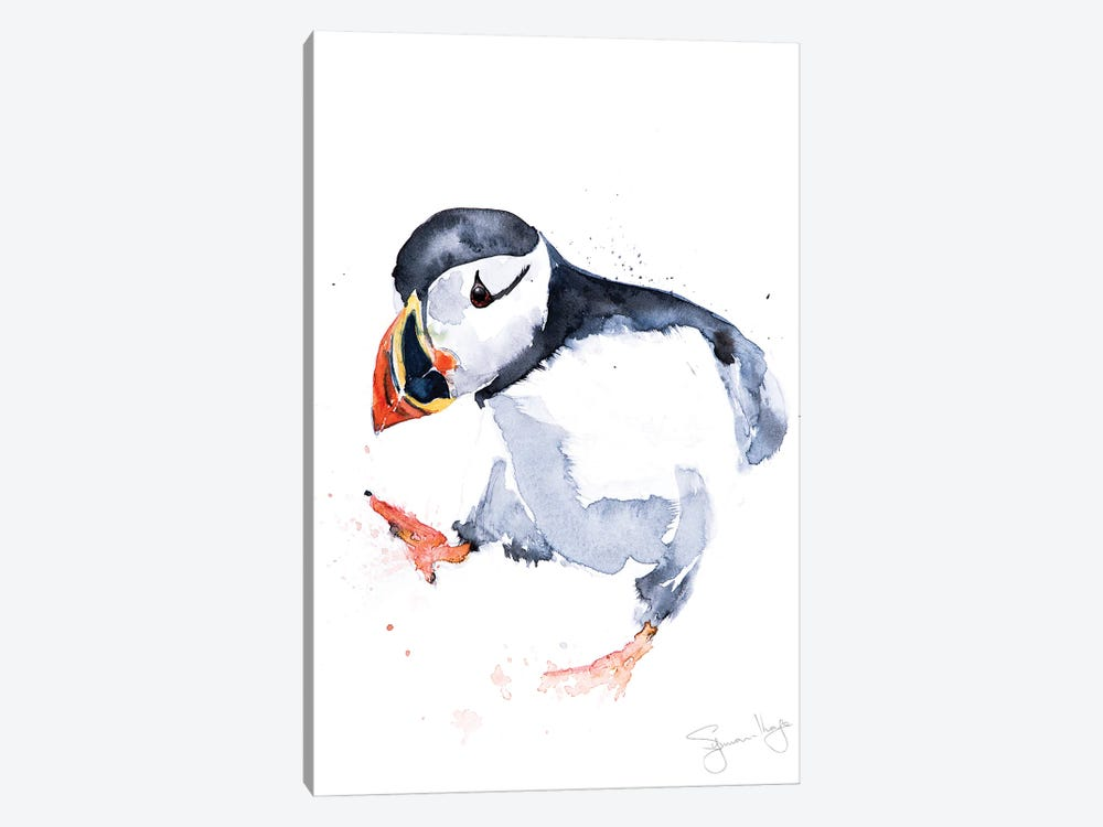 Puffin Sprout by Syman Kaye 1-piece Canvas Wall Art