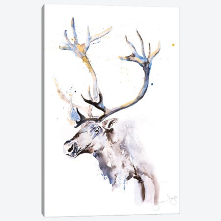 Reindeer I Canvas Print #SYK128} by Syman Kaye Canvas Art Print