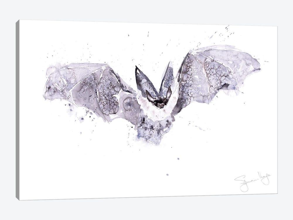 Bat by Syman Kaye 1-piece Canvas Print