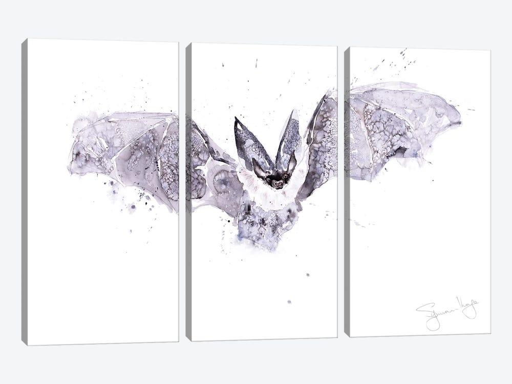 Bat by Syman Kaye 3-piece Canvas Print
