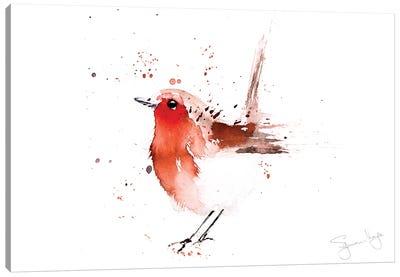 Robin Read Breast II Canvas Art Print