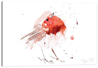 Robin Read Breast IV Canvas Art Print