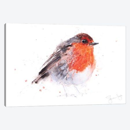 Robin Round Robin Canvas Print #SYK135} by Syman Kaye Canvas Print