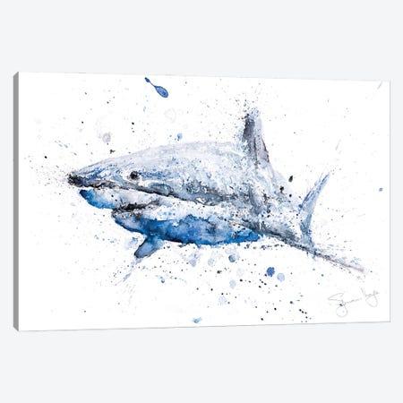 Shark I Canvas Print #SYK140} by Syman Kaye Canvas Art Print