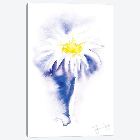Simple Daisy III Canvas Print #SYK148} by Syman Kaye Art Print