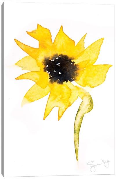 Simple Sunflower II Canvas Art Print