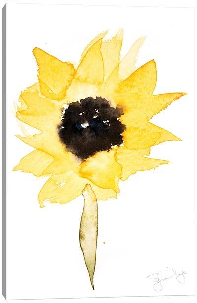 Simple Sunflower III Canvas Art Print