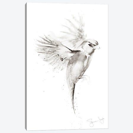 Sparrow Just A II Canvas Print #SYK153} by Syman Kaye Canvas Art