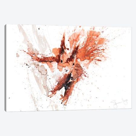 Squirrel Cyrill Canvas Print #SYK156} by Syman Kaye Canvas Print