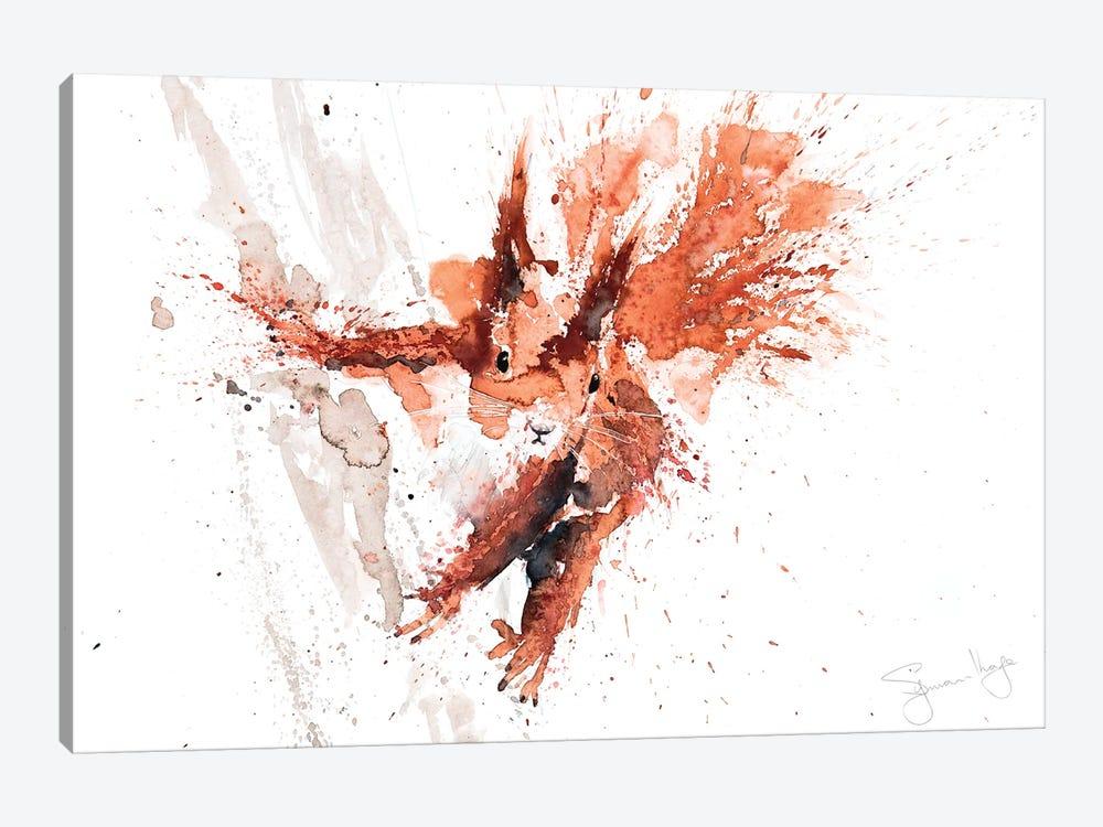 Squirrel Cyrill by Syman Kaye 1-piece Canvas Art
