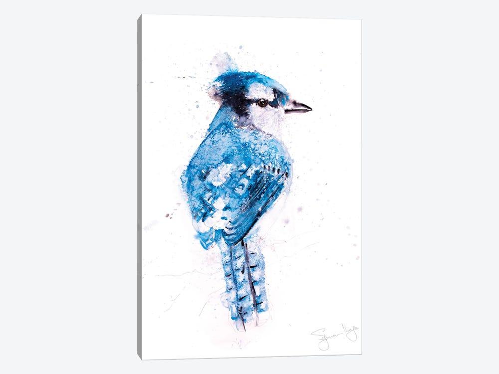 Blue Jay I by Syman Kaye 1-piece Canvas Art