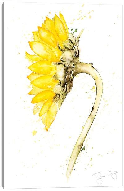Sunflower Botanical Canvas Art Print
