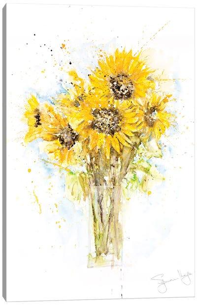 Sunflower Bunch Canvas Art Print