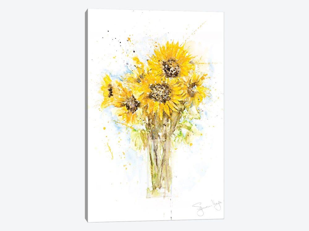 Sunflower Bunch by Syman Kaye 1-piece Canvas Artwork