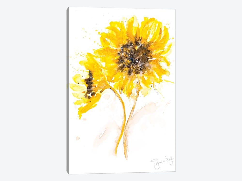 Sunflower Pair I by Syman Kaye 1-piece Canvas Print