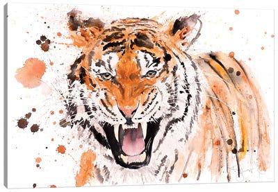 Tiger I Tiger Canvas Art Print